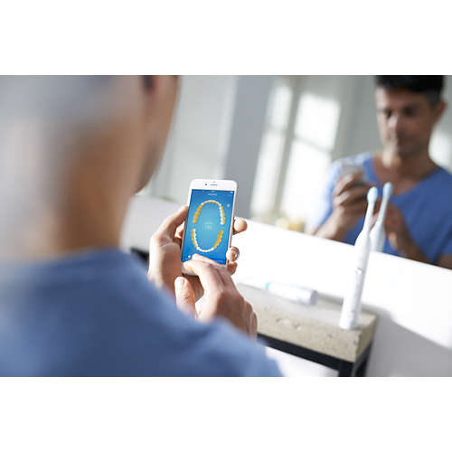 Sonicare FlexCare Platinum Connected Cepillo dental eléctrico sónico con app
