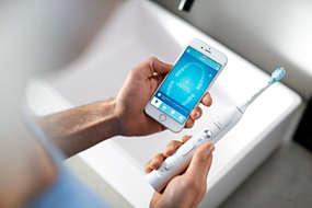 Sonicare FlexCare Platinum Connected Elektrische sonische tandenborstel met app