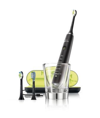 Buy Sonisk eltandbørste med 5 indstillinger, 3 børstehovederHX9353/56 online   Philips Shop