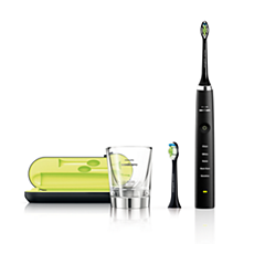 HX9382/54 Philips Sonicare DiamondClean Black Edition Sonic electric toothbrush - Dispense