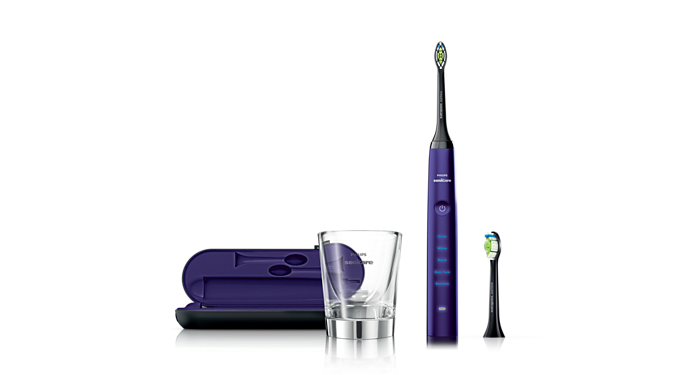 Diamondclean Amethyst Edition Sonic Electric Toothbrush
