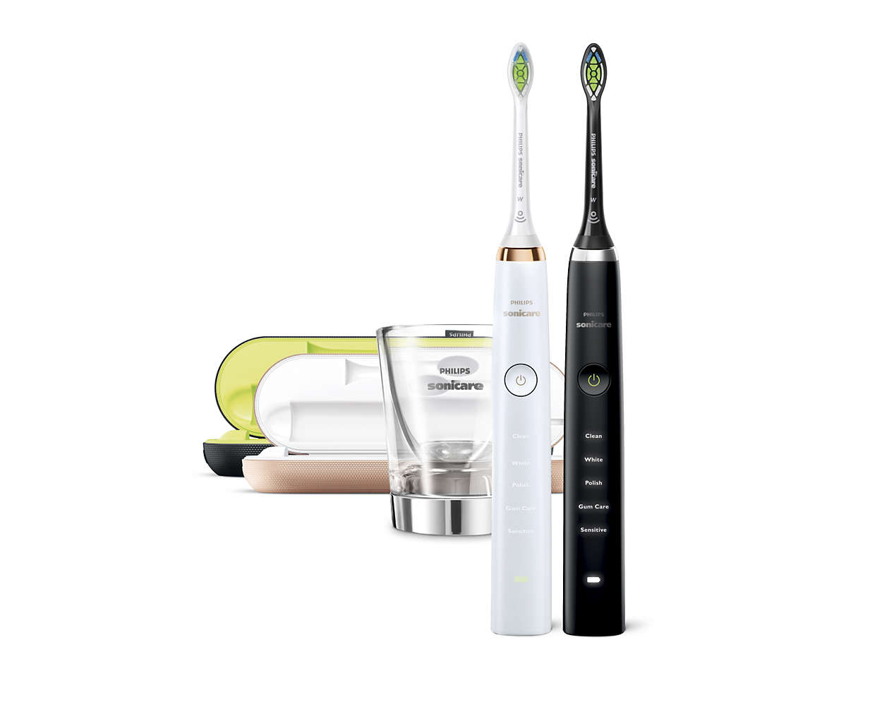 Sonic electric toothbrush dual pack