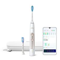 HX9691/02 ExpertClean 7500 Электрическая звуковая зубная щетка с приложением