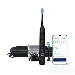 DiamondClean 9000 Электрическая звуковая зубная щетка с приложением