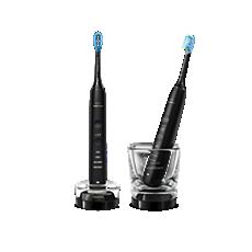 HX9914/54 DiamondClean 9000 Sonic elektriskā zobu suka ar īpašu lietotni