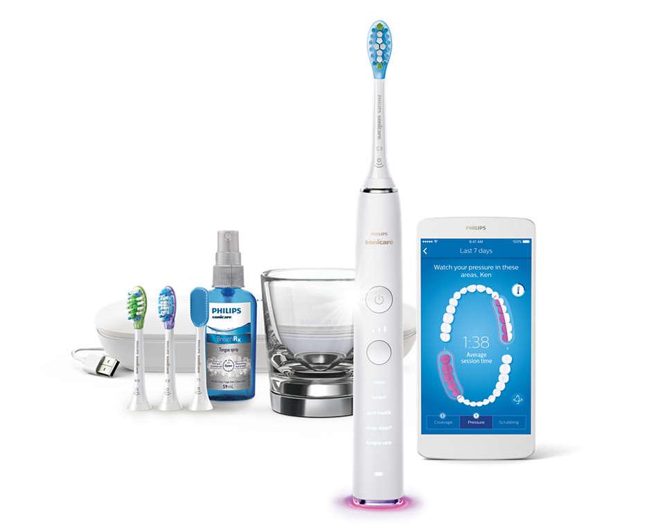 Vores bedste tandbørste nogensinde Gør rent i hele din mund.