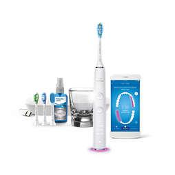 Sonicare DiamondClean Smart Escova de dentes elétrica com app