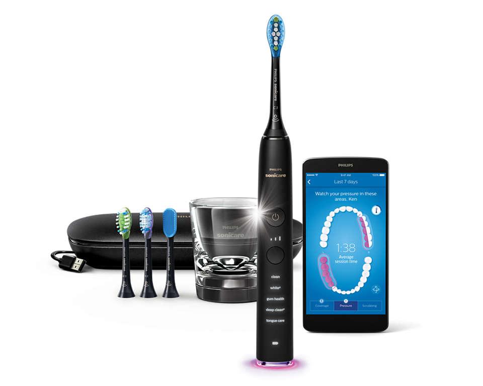 我们的牙刷,为您带来全面的口腔护理