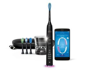 Sonicare DiamondClean Smart Szónikus elektromos fogkefe alkalmazással