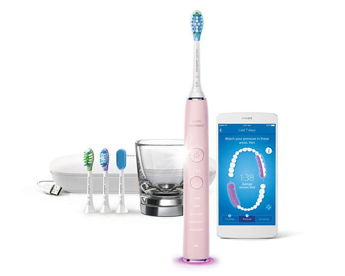 我們有史以來最傑出的牙刷產品,口腔照護滴水不漏