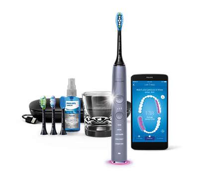 Den beste tannbørsten vår noensinne. Rengjør hele munnen.