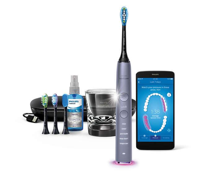 Vår bästa tandborste hittills. Gör rent i hela din mun.