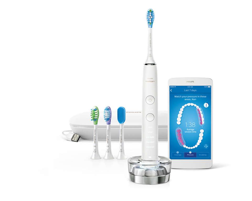 我们出色的牙刷,为您带来全面的口腔护理