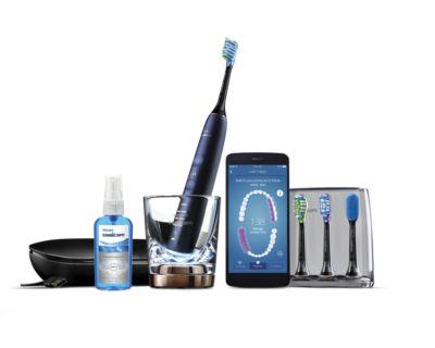Buy Elektrische Schallzahnbürste mit AppHX9954/53 online | Philips Shop