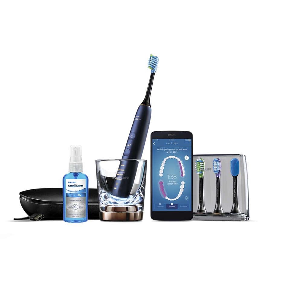 Sonicare DiamondClean Smart Elektrische Schallzahnbürste (blau)