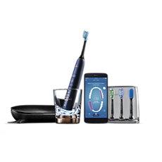 HX9954/57 - Philips Sonicare DiamondClean Smart Sonična električna zobna ščetka z aplikacijo