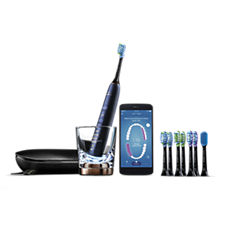 HX9957/51 - Philips Sonicare DiamondClean Smart 9700 Sonic electric toothbrush with app