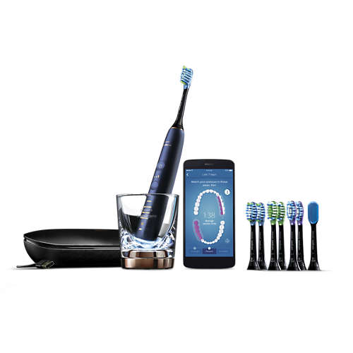 Sonic electric toothbrush with app