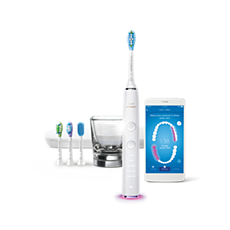 HX9985/08 Philips Sonicare DiamondClean Smart Brosse à dents sonique électrique avec application