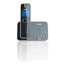ID5551B/79 Design collection Cordless phone with answering machine