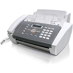 Fax con teléfono y contestador