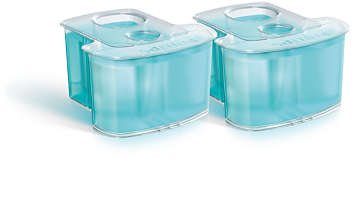 2er-Pack, Reinigungskartusche, duales Filtersystem