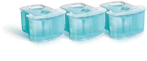 Cartuccia di pulizia con sistema Dual Filter, confezione da 3