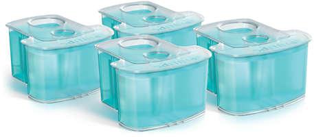 Pakke med 4 stk., rensepatron, dobbelt filtreringssystem