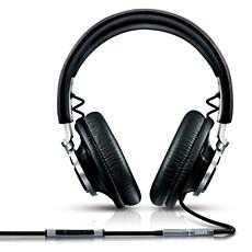 L1/00 - Philips Fidelio  Über-Ohr-Kopfhörer mit Bügel