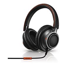 L2BO/00 Philips Fidelio Kopfhörer mit Mikrofon