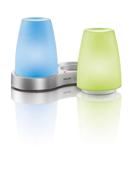 Vytvorte príjemné farebné osvetlenie vo vašej domácnosti