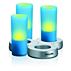 IMAGEO Farbige LED-Kerze