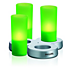 IMAGEO Velas LED coloridas