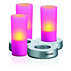IMAGEO Χρωματιστό κερί LED
