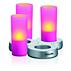 IMAGEO Kolorowa świeca LED
