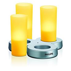 LAA31AYYC/12 -   IMAGEO Farbige LED-Kerze