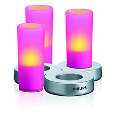 LAA31BYPC/12 -   IMAGEO Farbige LED-Kerze