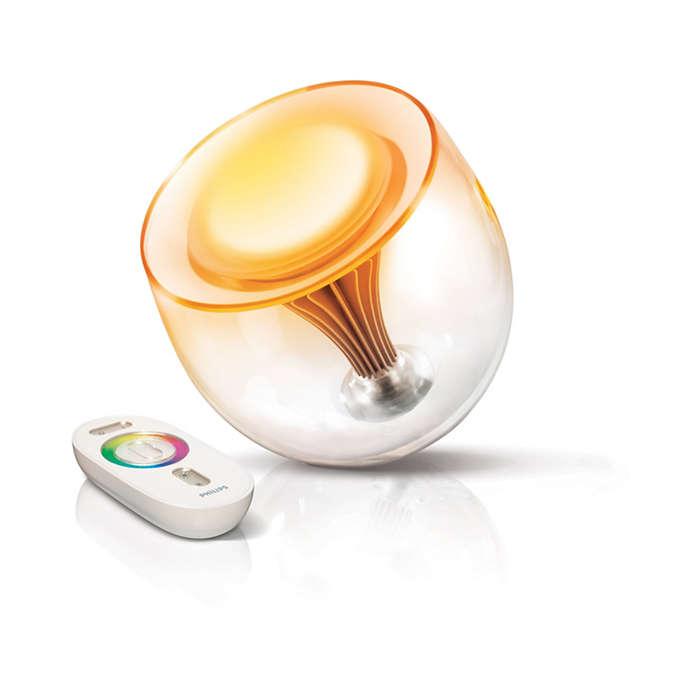 Bringen Sie mit Licht Farbe in Ihre Umgebung