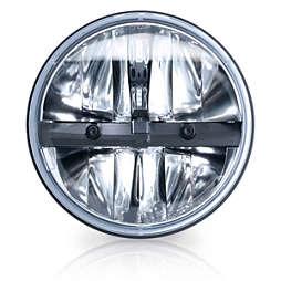 """LED Headlamp 7"""" round"""