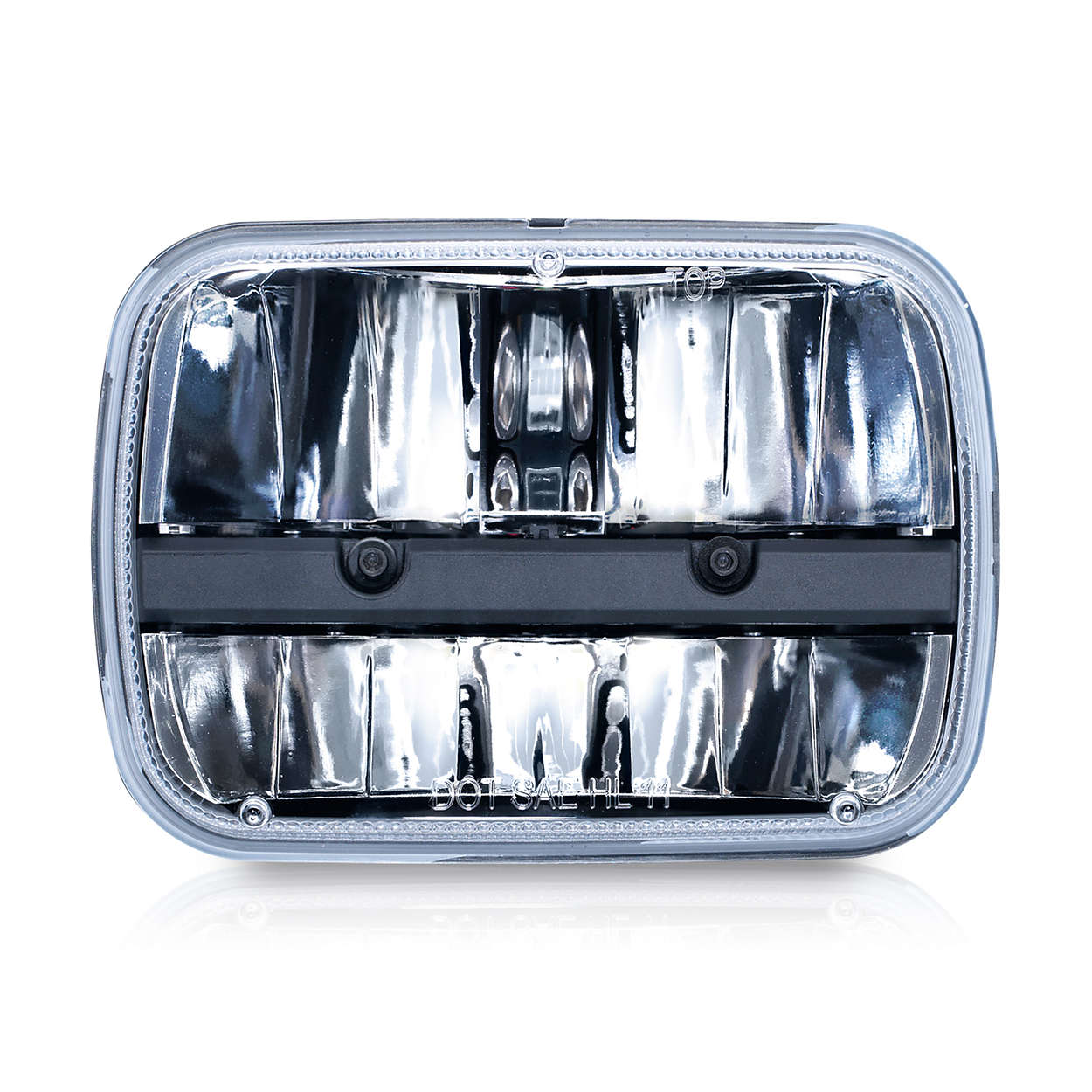 led headlamp 5 x 7 rectangular led02x1 philips. Black Bedroom Furniture Sets. Home Design Ideas