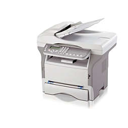 Síťový laserový fax stiskárnou