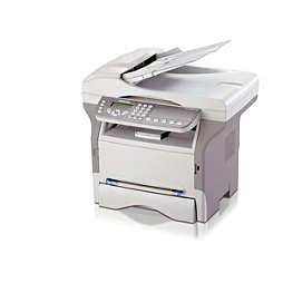 Fax laser di rete con stampante