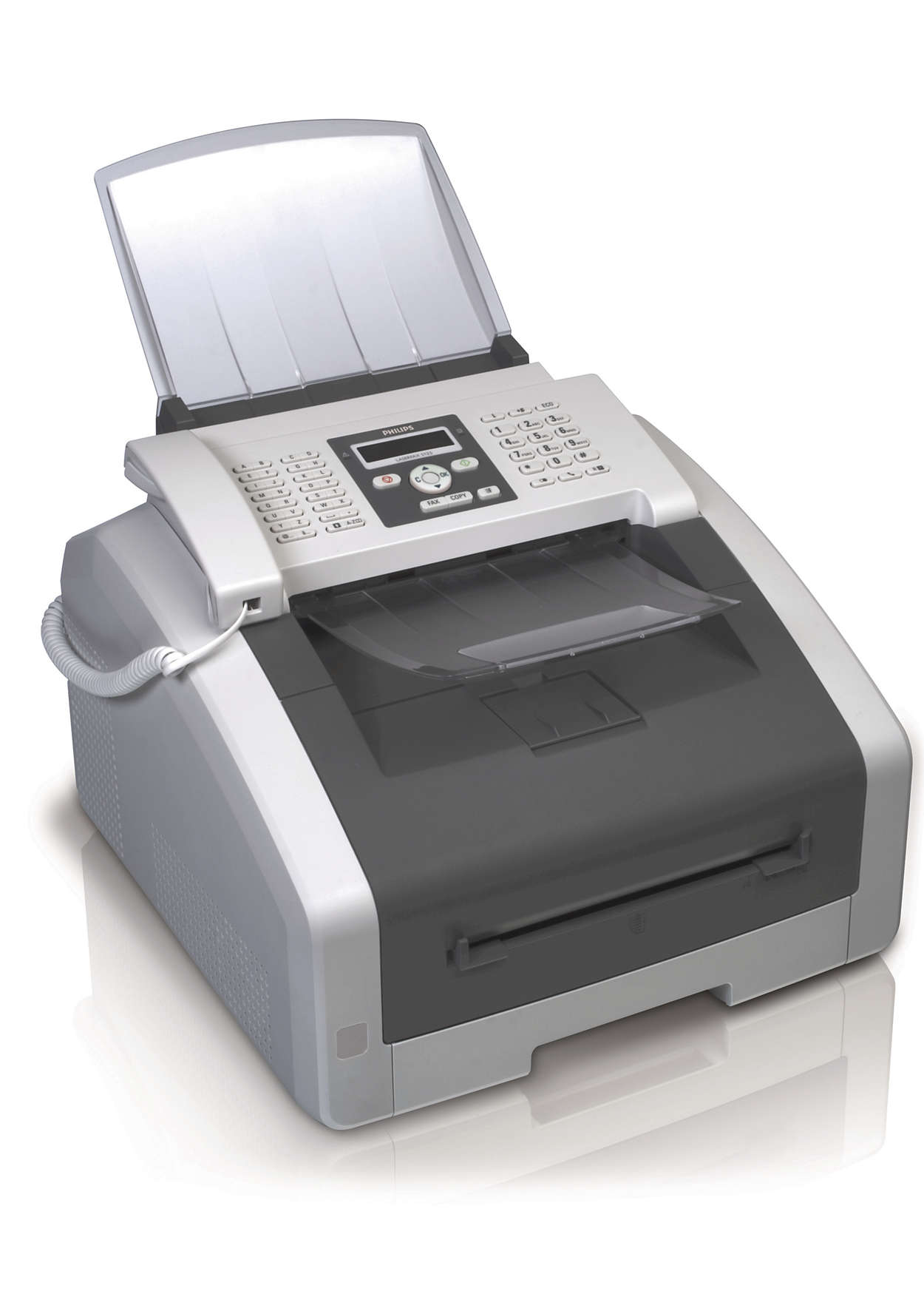fax with telephone and copier lpf5125 gbb philips
