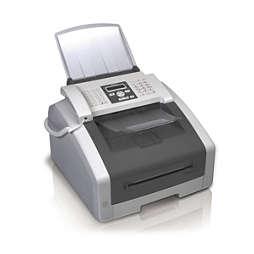 Fax avec téléphone, imprimante et scanner