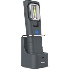 LPL47X1 LED Professional Work Light Lámpara recargable RCH21S con base