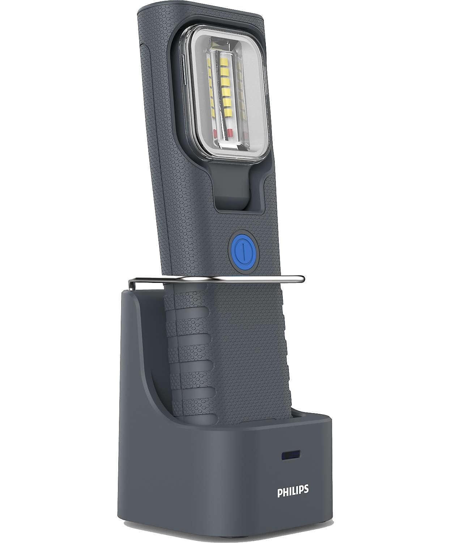 ドッキングステーション付充電式 LED ライト