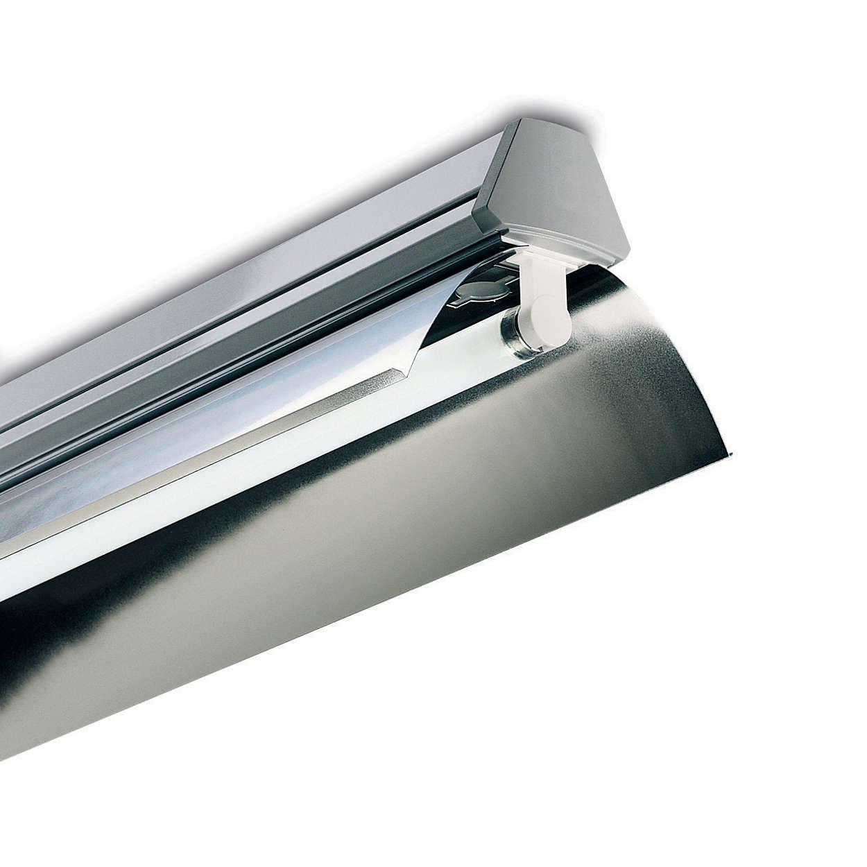 Maxos TL-D, aluminum reflectors and optics