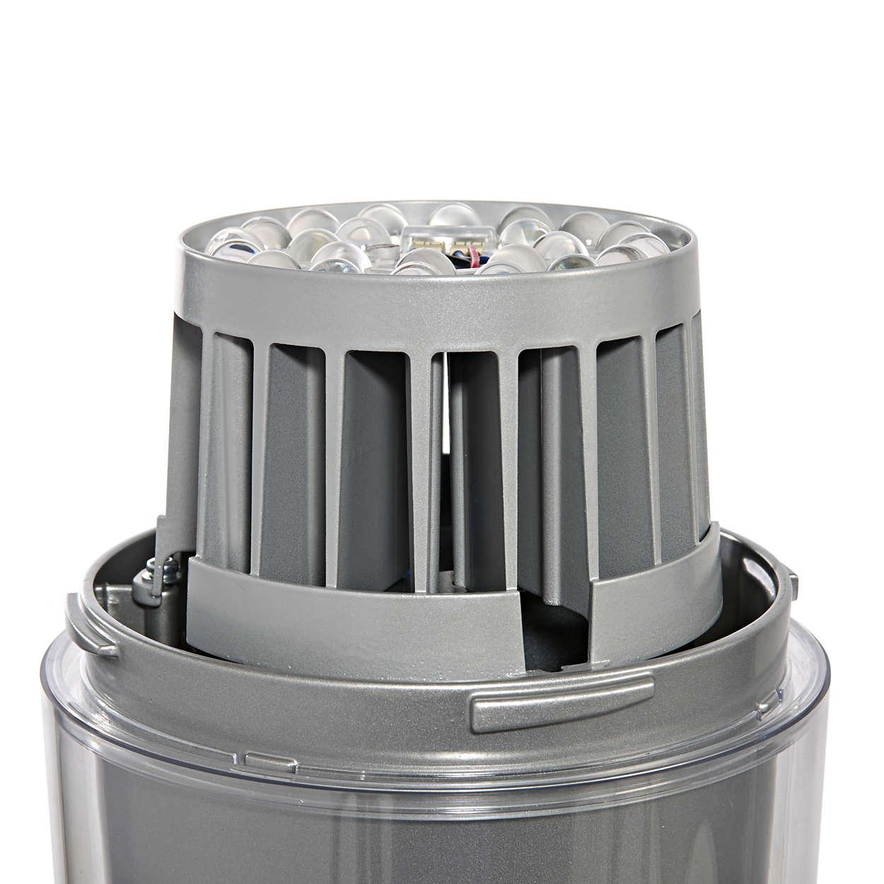 CitySpirit gen2 Torch LED