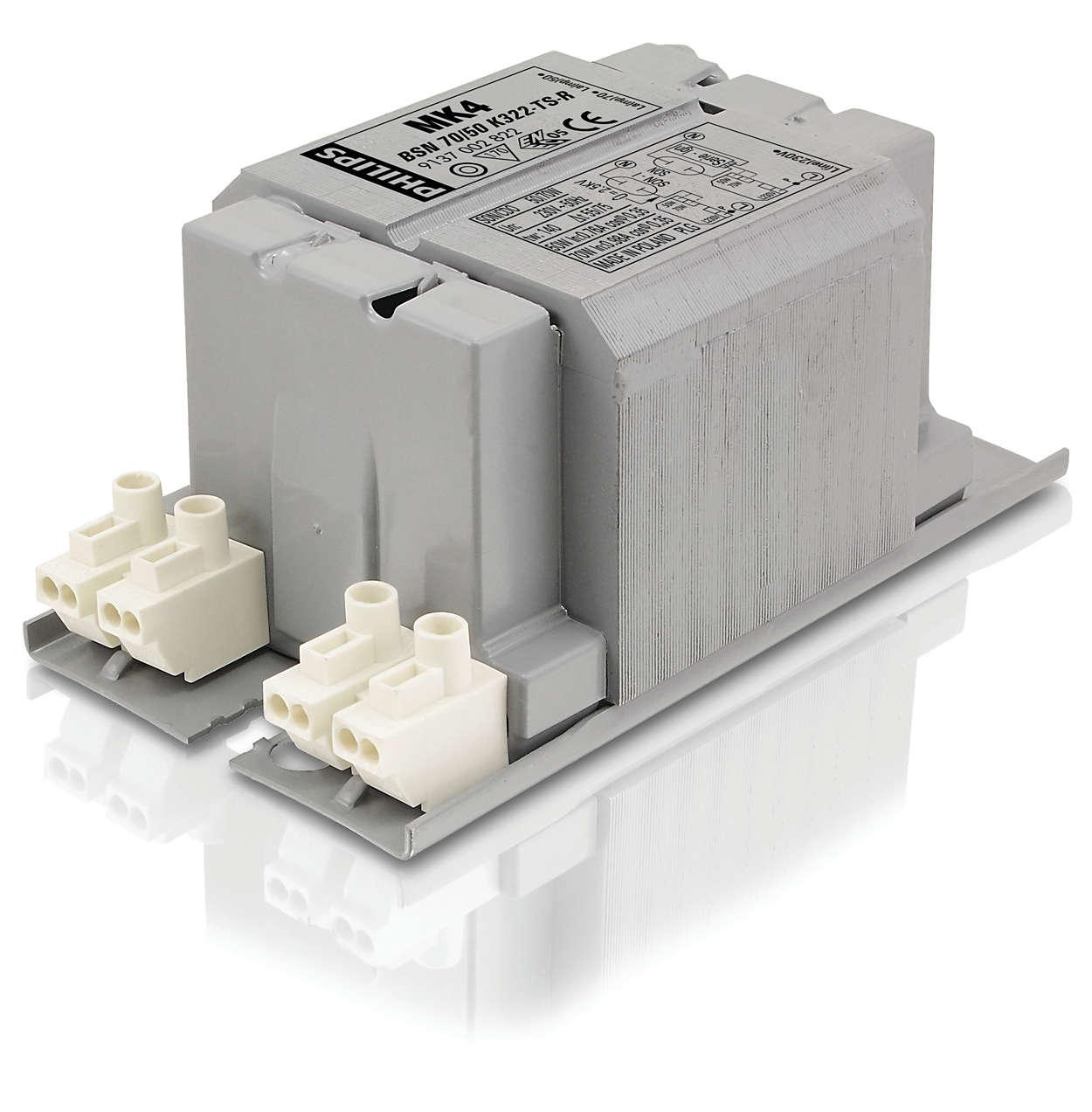 HID-Basic BSN/BMH series multi-wattage for SON/CDO/CDM/MH...