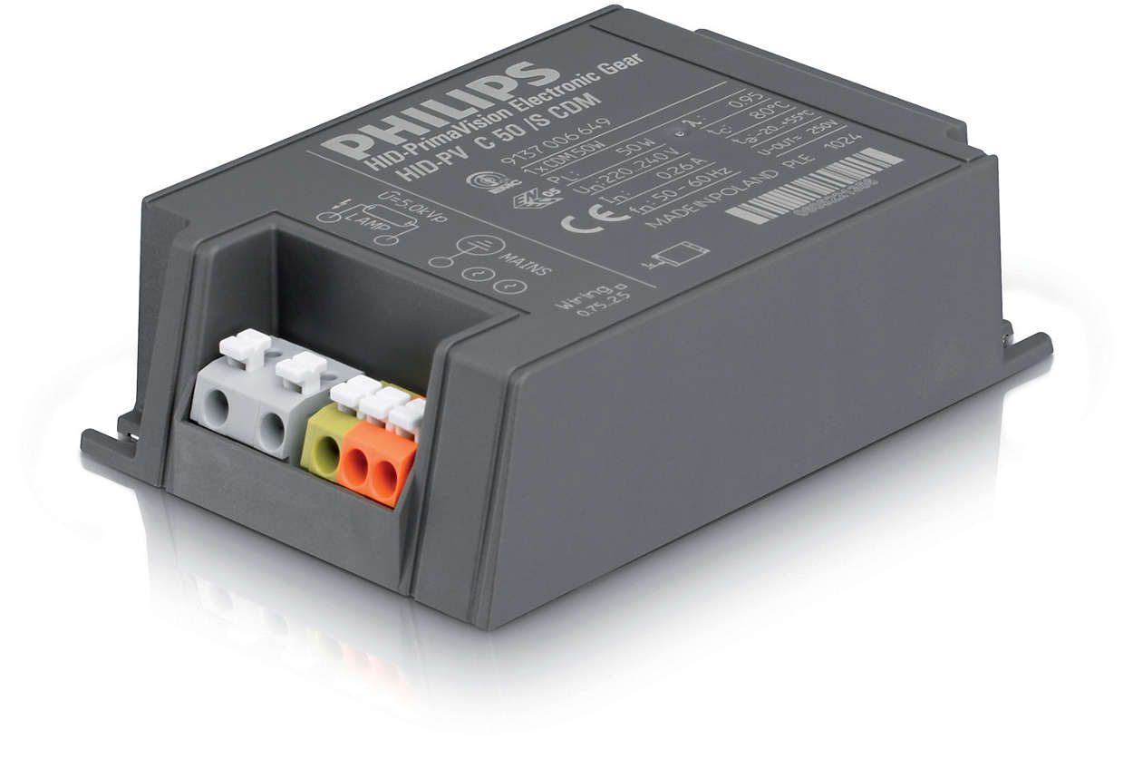PrimaVision Compact для ламп CDM